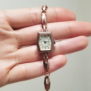 アガット(agete)のagete 時計 ピンクゴールド(腕時計)