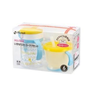 リッチェル(Richell)のリッチェル☆いきなりストローマグセット(マグカップ)