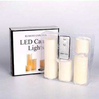 4個セット LEDキャンドル パーティ(キャンドル)