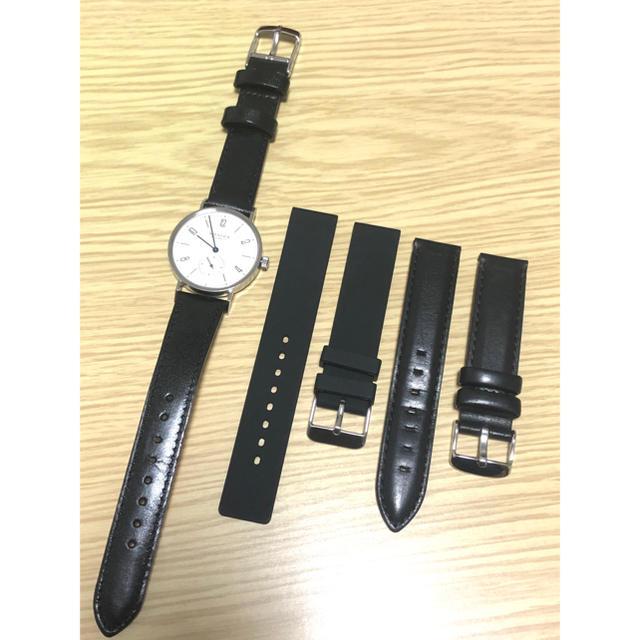 Glashutte Original(グラスヒュッテオリジナル)のノモス タンジェント TN1A1W2  手巻腕時計 メンズの時計(腕時計(アナログ))の商品写真