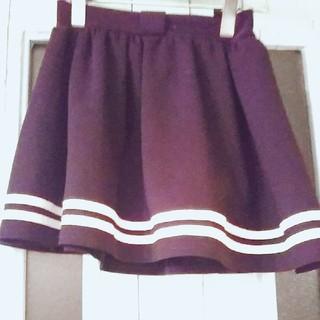 ウェストトゥワイス(Waste(twice))の黒 スカート ブラック(スカート)