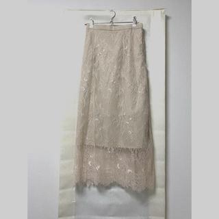 snidel - レースタイトスカート
