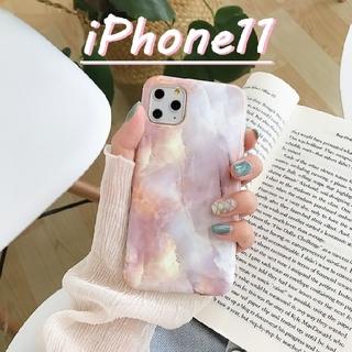 可愛い♡大理石柄 iPhoneケース