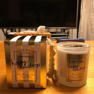 ザラホーム(ZARA HOME)の新品 ザラホーム   キャンドル ジャスミンの香り(キャンドル)