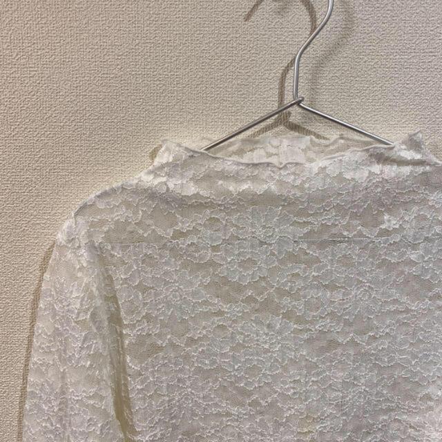 GU(ジーユー)のGU レーストップス レディースのトップス(シャツ/ブラウス(長袖/七分))の商品写真
