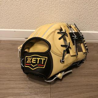 ZETT - ゼット 限定 内野手用軟式グローブ 新品未使用