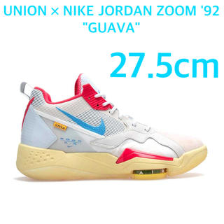 NIKE - UNION × NIKE JORDAN ZOOM 92 GUAVA 27.5cm