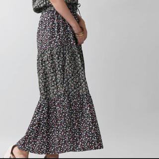 ウィゴー(WEGO)の新品未使用 花柄スカート フリーサイズ(ロングスカート)
