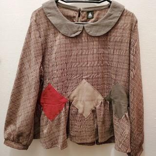 メルロー(merlot)のmerlot襟つきトップス(Tシャツ(長袖/七分))