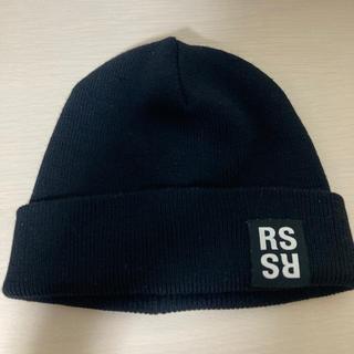 ラフシモンズ(RAF SIMONS)のRAFSIMONS  ニット帽 ビーニー(ニット帽/ビーニー)