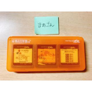 ニンテンドーDS(ニンテンドーDS)の得点力学習DS ソフト4本セット【外箱、説明書なし】(携帯用ゲームソフト)