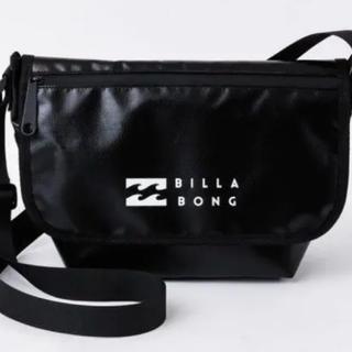 billabong - BILLABONG水と汚れに強いショルダーバッグBOOK BLACK Ver.
