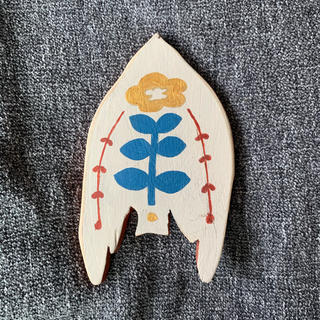 ハンドメイド 木製壁飾り(インテリア雑貨)