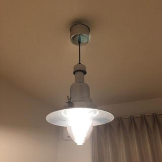 IKEA イケア ペンダントランプ OTTAVA シルバー(天井照明)