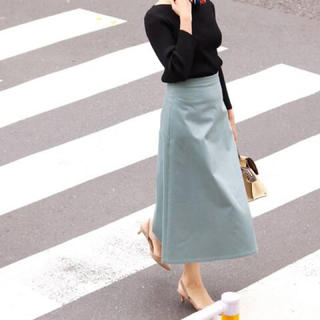IENA - IENA ロングスカート グリーン トラペーズスカート
