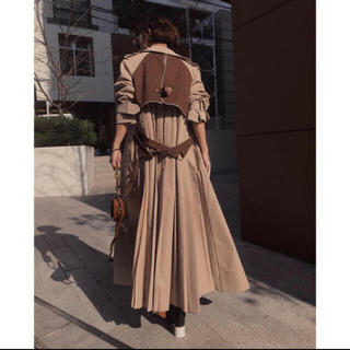 アメリヴィンテージ(Ameri VINTAGE)のAmeri VINTAGE VARIOUS BACK PLEATS TRENCH(トレンチコート)