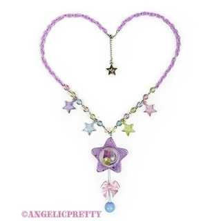 Angelic Pretty - 【新品】Twinkle Star Toyネックレス(ラベンダー)