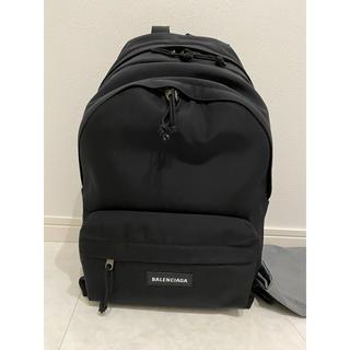バレンシアガ(Balenciaga)のバレンシアガ リュック ブラック ダブルファスナー バックパック 新品 未使用(バッグパック/リュック)