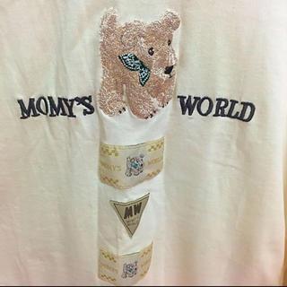 ピンクハウス(PINK HOUSE)のお値下げワンちゃんクリームロンTシャツ 新品ピンクハウス風(Tシャツ(長袖/七分))