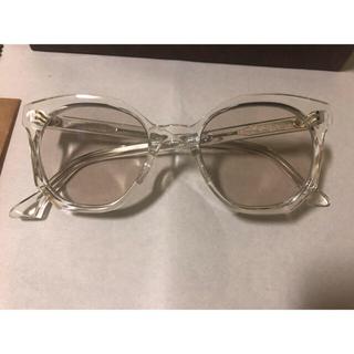 【美品】guepard ギュパール クリアレンズ メガネ サングラス