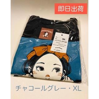 カーハート(carhartt)のover Print 古塔つみ ロングTシャツ グレー XL(Tシャツ/カットソー(七分/長袖))