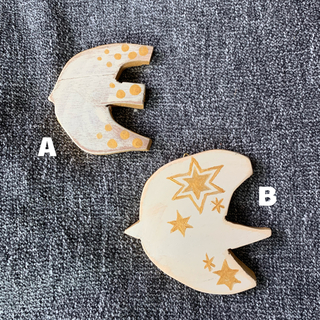 木製 インテリア オーナメント(インテリア雑貨)