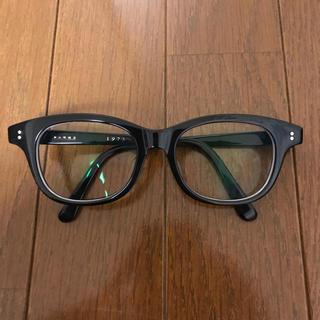 【美品】白山眼鏡店 HANK 1975 ブラック