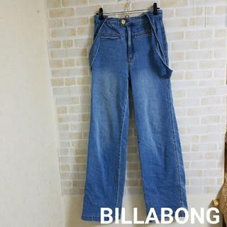 billabong - 【本日削除/最終値下げ】BILLABONG デニム サロペット パンツ