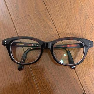 【美品】白山眼鏡店 HANK 1975 ベッコウ