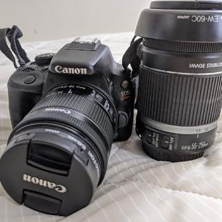 Canon - Canon EOS Kiss X7 Wレンズ付き