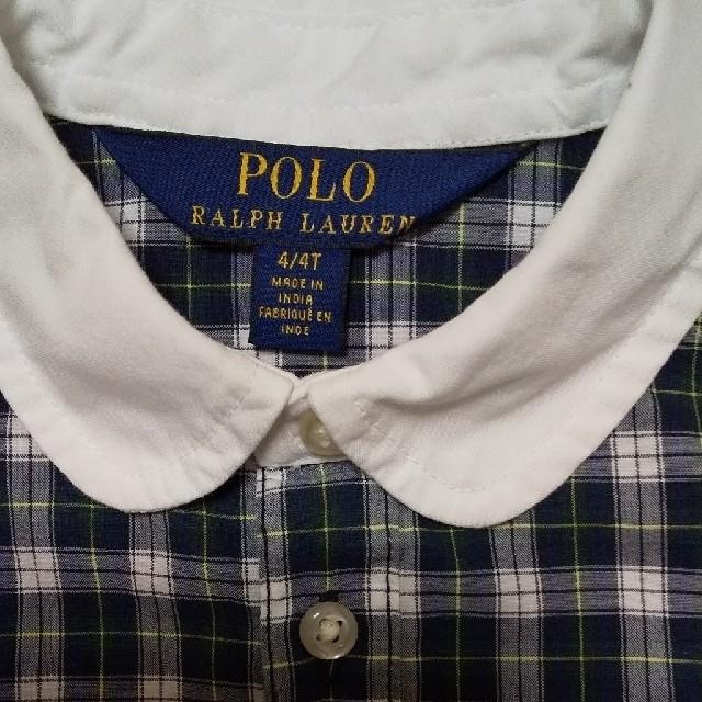 POLO RALPH LAUREN(ポロラルフローレン)のPOLO RALPH LAUREN 4T キッズ/ベビー/マタニティのキッズ服女の子用(90cm~)(ワンピース)の商品写真