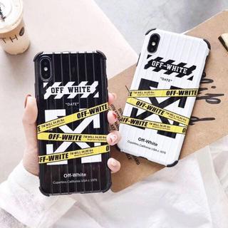 OFF-WHITE - オフホワイト iPhoneケース ブラック