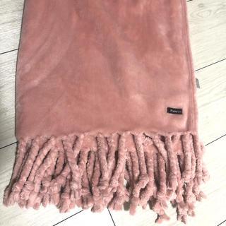 フランフラン(Francfranc)のフランフラン ブランケット スロー ピンク(毛布)