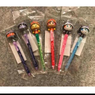 アンパンマン - アンパンマンミュージアム限定 着ぐるみボールペン (アクションボールペン)6種類