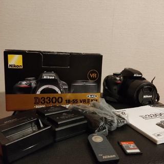 Nikon - 一眼レフNikon D3300 18-55 VR2 レンズキット
