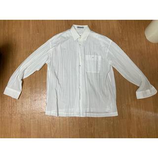 イッセイミヤケ(ISSEY MIYAKE)のissey miyake  men プリーツシャツ(シャツ)