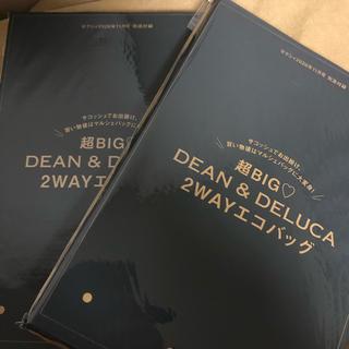 ディーンアンドデルーカ(DEAN & DELUCA)のゼクシィ11月号付録  超BIG DEAN &DELUCA 2WAY エコバッグ(その他)