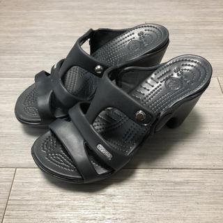 crocs - クロックス サイプラスw7 ブラック