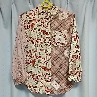 ピンクハウス(PINK HOUSE)の2356ピンクハウスシャツ フルーツ柄(シャツ/ブラウス(長袖/七分))