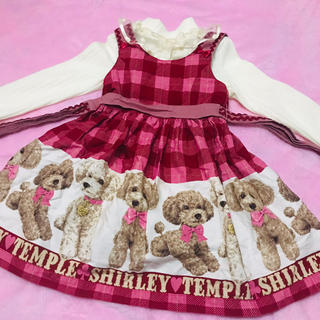 Shirley Temple - シャーリーテンプル プードル ジャンスカ 110
