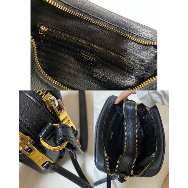 PRADA(プラダ)のPRADA レザーショルダーバッグ レディースのバッグ(ショルダーバッグ)の商品写真