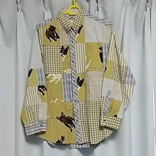 ピンクハウス(PINK HOUSE)の2358カールヘルムシャツ 犬(シャツ/ブラウス(長袖/七分))