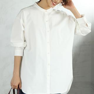 coen - バンドカラーシャツ