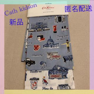 キャスキッドソン(Cath Kidston)の【新品】キャスキッドソン Tea for towel 2枚セット(収納/キッチン雑貨)