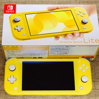 Nintendo Switch - ●美品/Nintendo Switch Lite イエロー本体