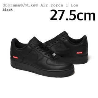 Supreme - Supreme NIKE AIR FORCE 1 27.5cm ブラック 黒