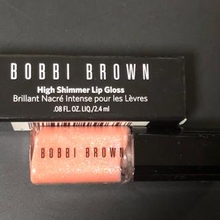 ボビイブラウン(BOBBI BROWN)の未使用 ボビイブラウン ハイ シマー リップグロス (リップグロス)