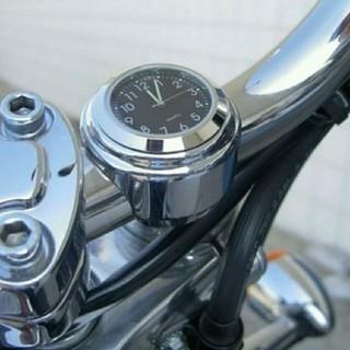 時計 ハンドル取り付け アナログ ツーリング