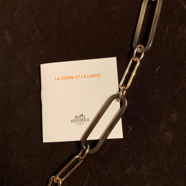 Hermes(エルメス)のエルメス 2020AW 新作 ホーンネックレス アミュレット 日本未入荷 ラージ レディースのアクセサリー(ネックレス)の商品写真