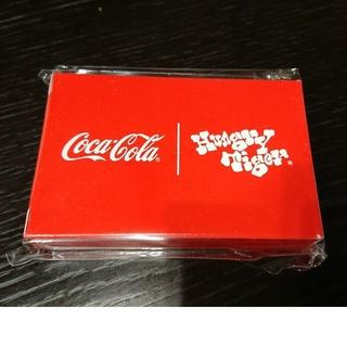 コカコーラ(コカ・コーラ)の【非売品】コカ・コーラ×ハングリータイガー トランプ(ノベルティグッズ)